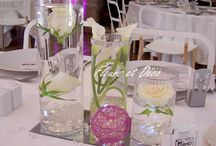 Centre de table mariage / Centre de table