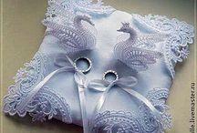 ting til bryllup - kniplede