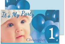 Announcing Baby / Baby Announcements and Gender Reveal Party Invitations