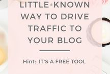 Blog Traffic Tips and Tricks ♡