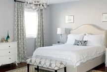 small bedroom colors / by Katherine Fennelly