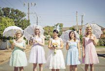 {Bridesmaids dresses}*