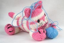 Knitted Toys and decorations