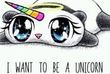Unicorns\(-ㅂ-)/ ♥ ♥ ♥