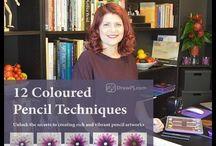 Coloured Pencil Book Reviews