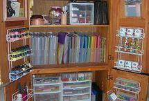 Dica organizada: materiais de artesanato