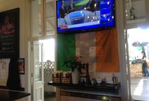 Saint Patrick's Day at Empire Tavern / A few decorations and green lads enjoying lunch at the Empire for St Pats!