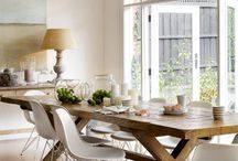 Rustic coastal dining / Dining areas with a rustic coastal twist