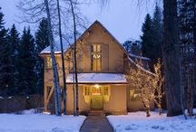 Aspen Old Victorian Interior Design / An Aspen Old Victorian modernized while keeping its charm, remodeled by Bowden Development with the interior by the Aspen interior designers from Aspen Design Room.