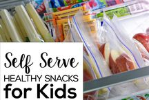 Kids fridge snacks