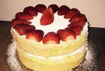 custard pwdr sponge cake