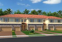 River Marina / Now Open in Palm Beach, Townhomes starting from the upper $100's / by Lennar Miami