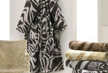 ROBERTO CAVALLI ROBES AND TOWELS