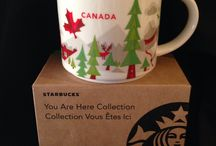 Starbucks cups I own... / You are Here Mugs / by Alena Swanson, Wedding Planner