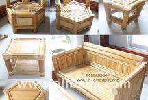 muebles en bambu