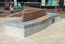 Broad Street Project (Reading) / Factory Furniture were asked to design some feature seating and boulders for the Broad Street, Reading