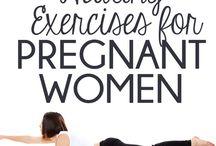 Vol verwachting en Zwanger zijn / Leuke dingen, praktische zaken rondom je zwangerschap