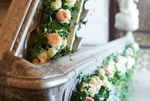 Wedding decoration stairs