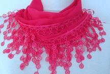 Pink scarf / by Asuhan Scarf