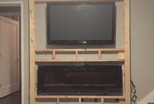 Mur tv/foyer