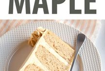 Maple Cake Recipes
