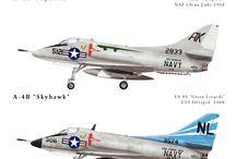 Marking A-4 Skyhawk