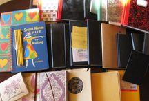 Notizbücher/Notebooks / Bei mir dreht sich alles ums Schreiben. Da brauche ich natürlich viele Notizbücher ...