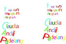 Claudia (my design) / Typografi