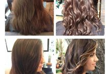 Before and Afters by our talented Atelier Artists! / We love to make magic with our clients!  www.ateliersalon.com