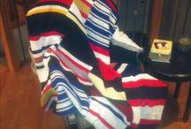hockey blanket