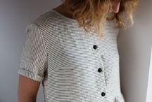 wearing linen
