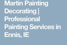Ennis co Clare Painting Decorating Contractor / Martin Painting Decorating Contractor CO.CLARE TRADES MARTIN PAINTING