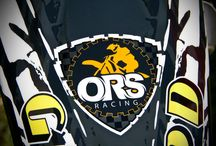 ORS Racing / Logo and design of a motocross team.