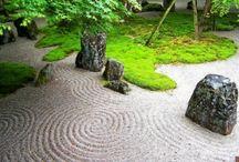 Jardin / Gravier zen