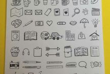 planner icons