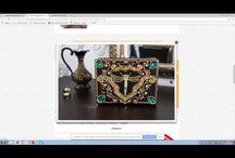 Видео М.К. по точечной и витражной росписи