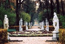Summer Garden in St. Petersburg