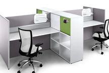 Euro Work Stations / Do you need uniform cubicles with an open floor plan that allow a large group of employees to perform business functions in close quarters? With flexible configuration each work center cubicle is adjustable to accommodate large call centers, telemarketing agencies, or customer service departments.
