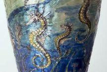Art Nouveau Antique Sculpture & Glass / The best examples of art nouveau sculpture and art glass from our collection of antiques at Hickmet Fine Arts.