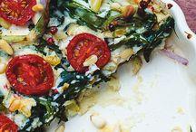 quiche/pizza