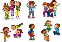 Imatges accions nens