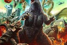 Godzilla & Kaiju / Godzilla and Kaju related art and merchandise