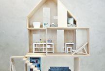 Boomini MINI WOOD / dollhouse in collectors scale (1:12)