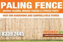 Paling Fences Melbourne