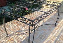 Steel Outdoor Table