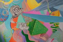 my  own  art / abstract paints mostly acrilica