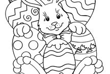 Coloring pages / by Melissa Schaechtel Pitcher