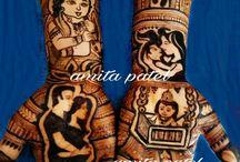 baby Henna art