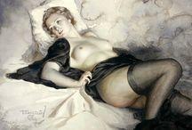 Эротика Арт / Женская эротика в виде живописи и графики