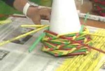 Papírové- Pletení